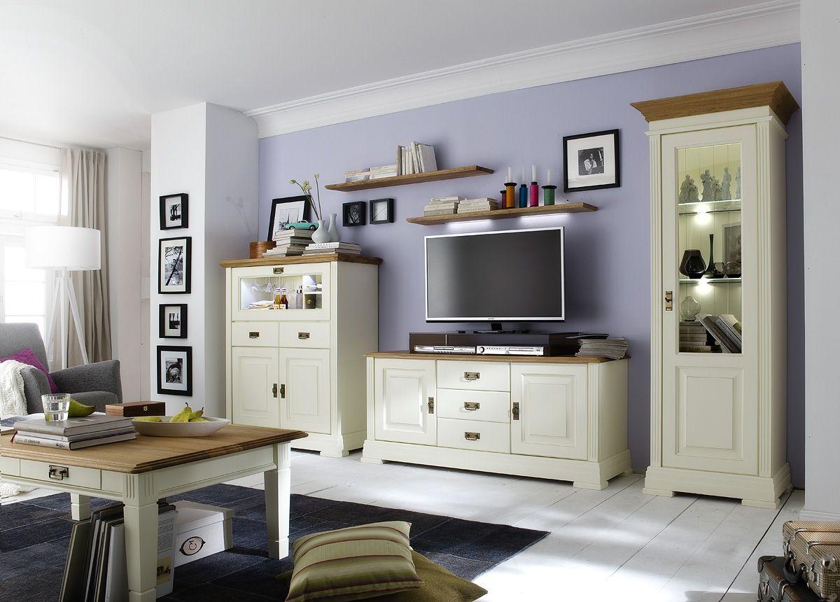 Bildergebnis für wohnzimmermöbel vintage look   White old ...
