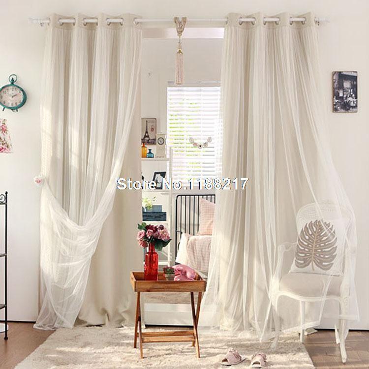Elegant Blackout White Curtains   Google Search