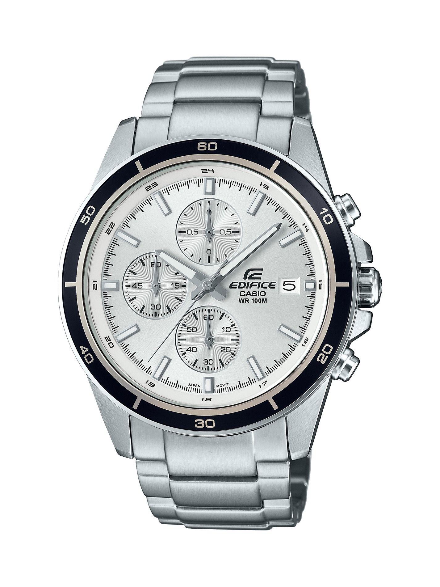 Casio Men's Edifice Chronograph Watch, white in 2019