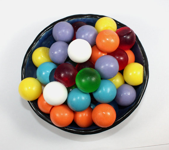 Decorative Soap Balls: Soap Spheres Set Of 45 Marbles Balls Circles By