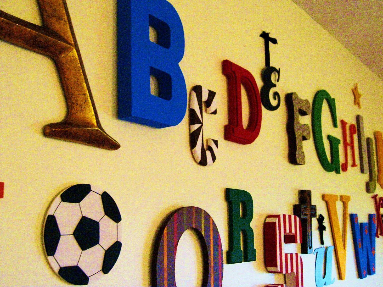alphabet nursery ideas | nurse Mr. W in the orange rocker, and we ...