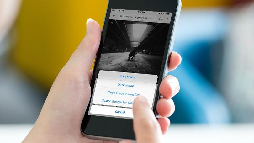 How to do a reverse image search from your phone reverse
