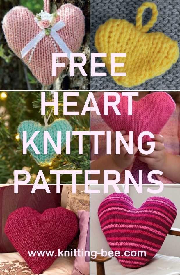 Heart Knitting Patterns Knit Patterns Patterns And Crochet