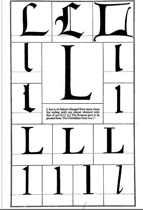 Alphabet - L