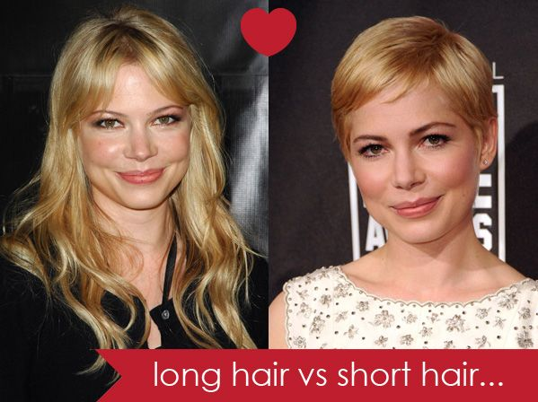 Brilliant 1000 Images About Long Hair Vs Short Hair On Pinterest Pixie Hairstyle Inspiration Daily Dogsangcom