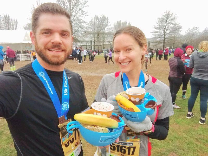Nashville hot chocolate 15k race recap elena mccown llc