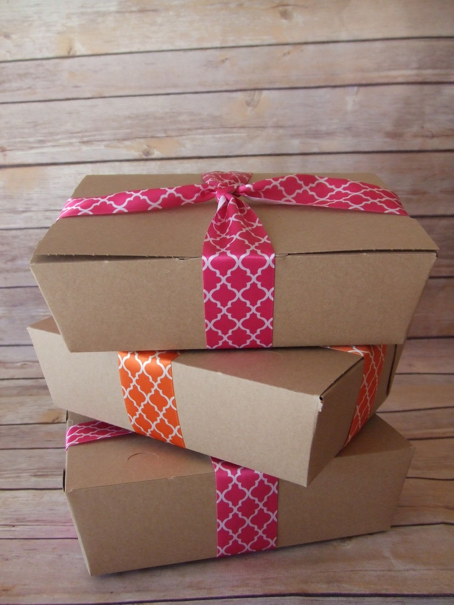 Kraft Lunch Box Paper Food Boxes Party Picnic Party Wedding