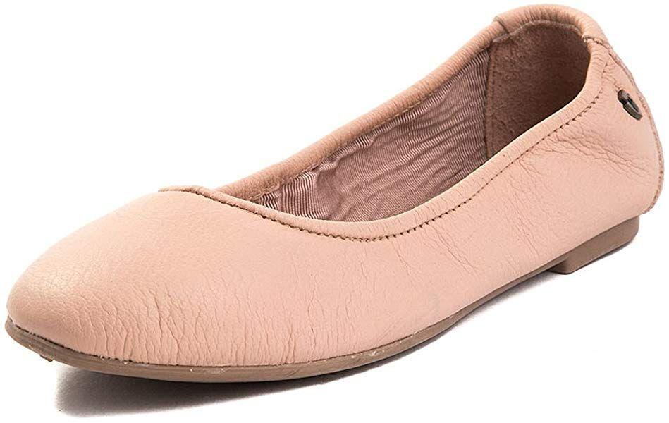 db32d89cdd2 Amazon.com | Minnetonka Women's Anna Ballerina Leather Ballet Flat ...