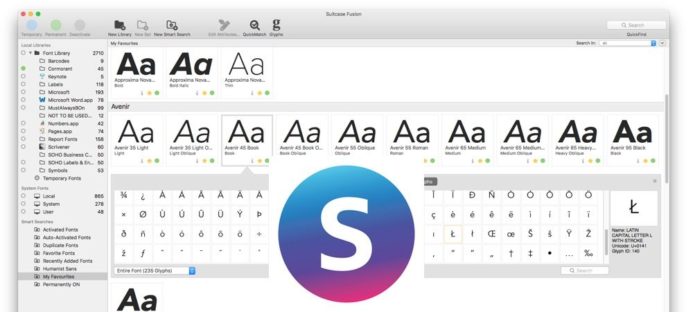 Suitcase Fusion 8 Has Clean Design Is Still The Font Manager To