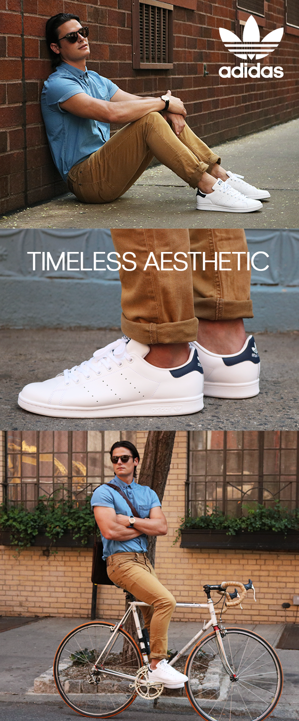 504b97f472b4a Timeless aesthetic. The adidas Stan Smith. Classic