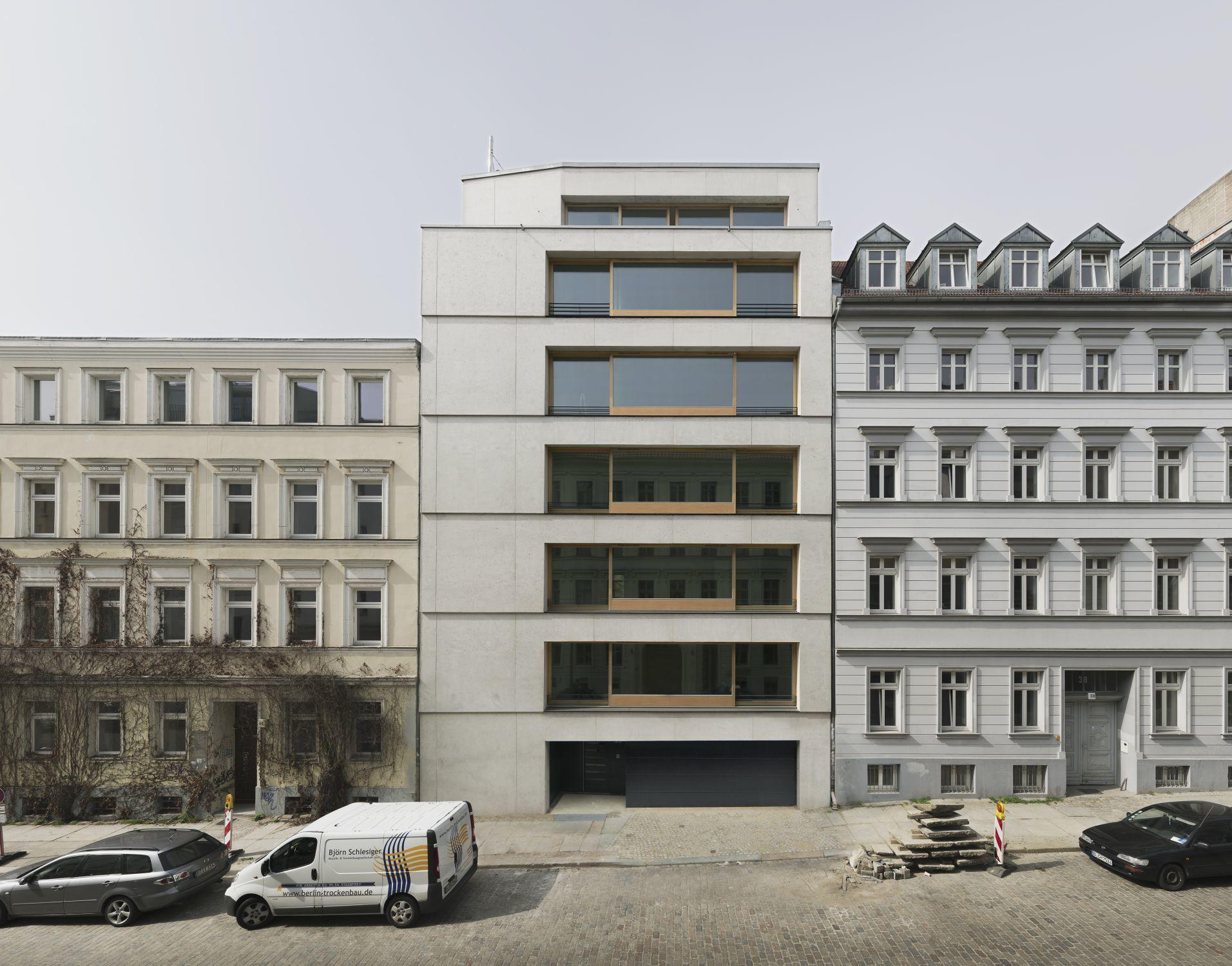 Brilliant Architekten In Berlin Sammlung Von Christinenstraße 39, / Zanderroth Architekten, / Z.de