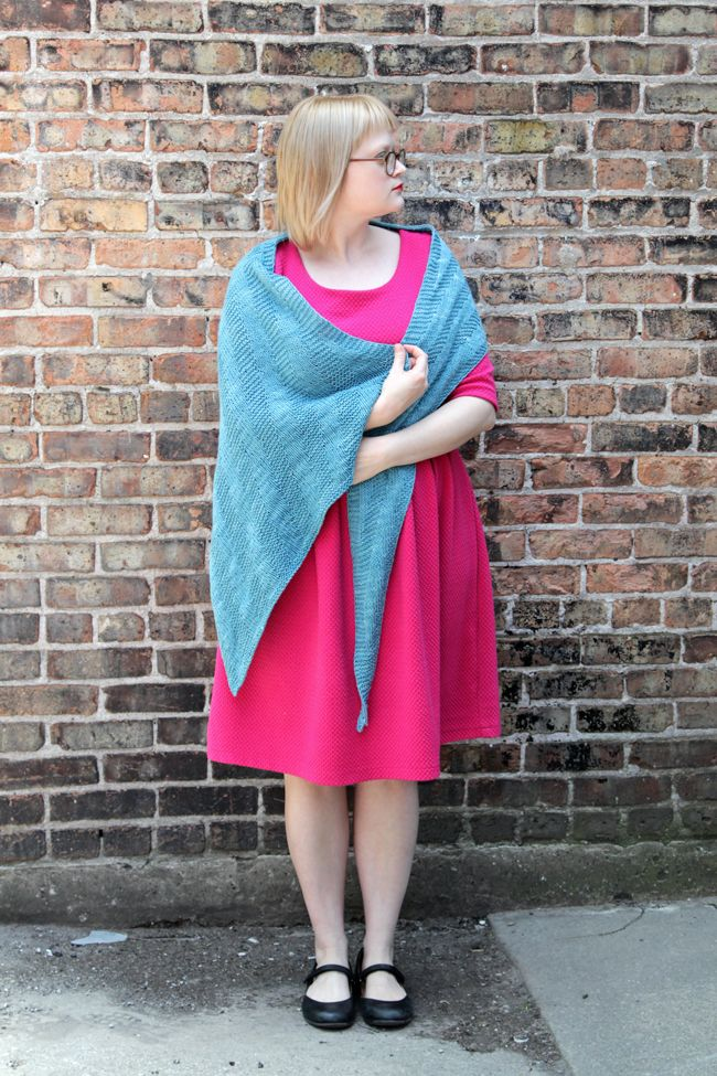 Sixth Degree Shawl - a free pattern by knitting designer Heidi ...