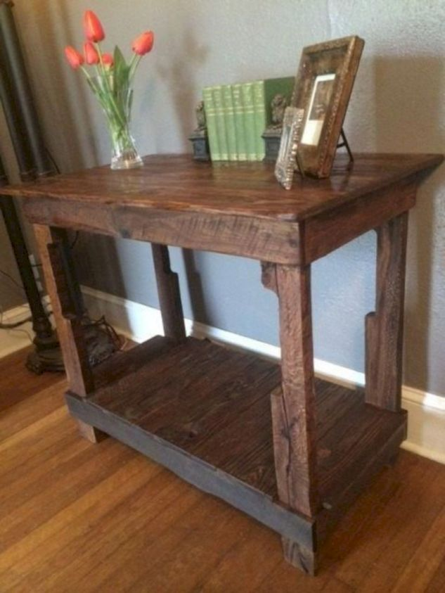 47 Nice Furniture Ideas Made From Wooden Pallets   Side ...