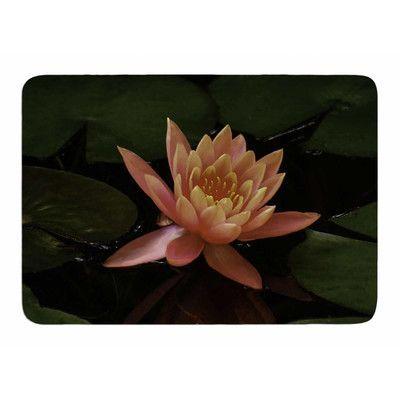 Memory Foam Water Lily.Kess Inhouse Lily Pad Flower By Nick Nareshni Memory Foam