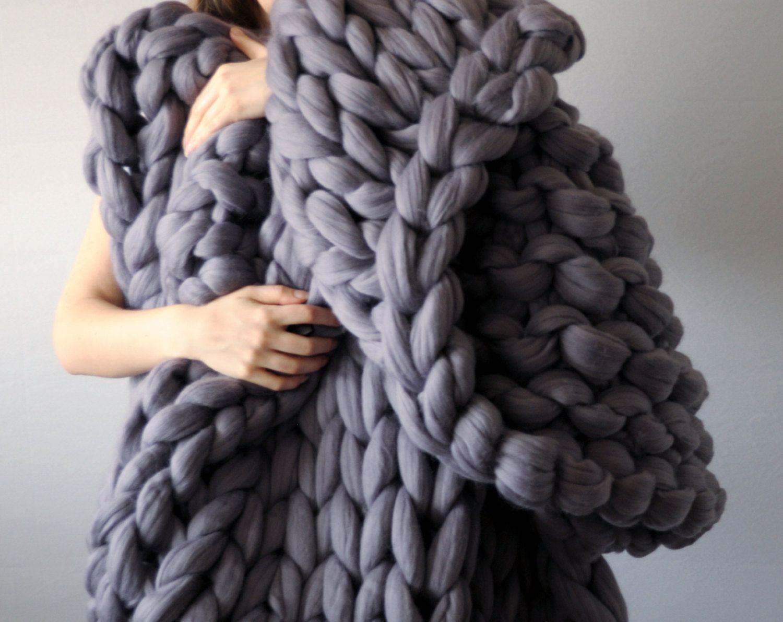 Diy Arm Knitting Merino Wool 3 Inch Stitch By Ohhio On