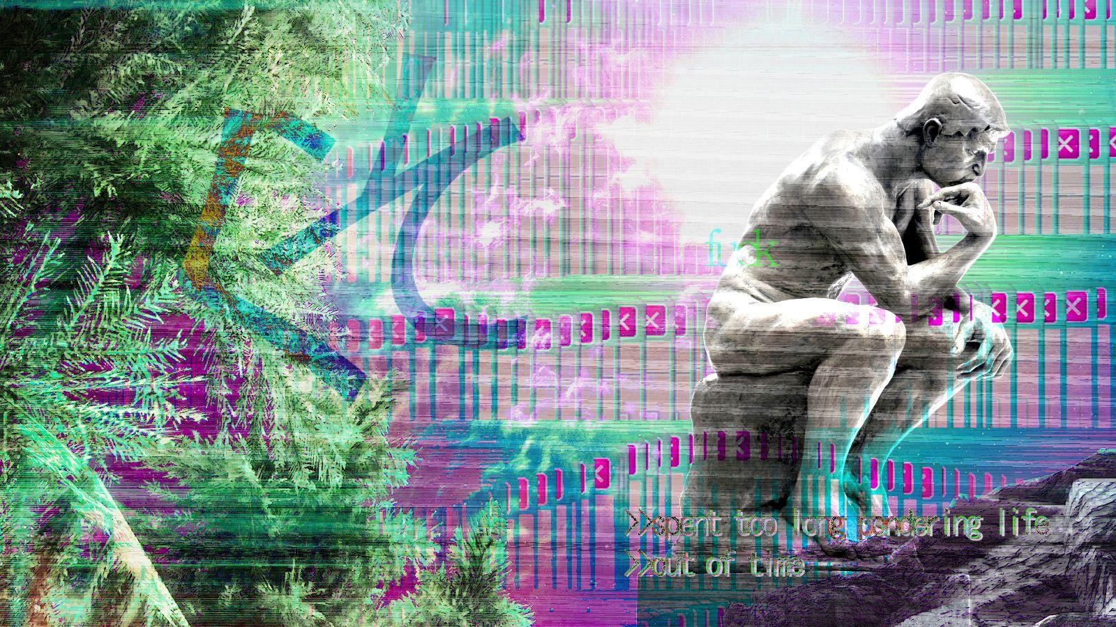 Vaporwave Aesthetic Wallpaper Desktop