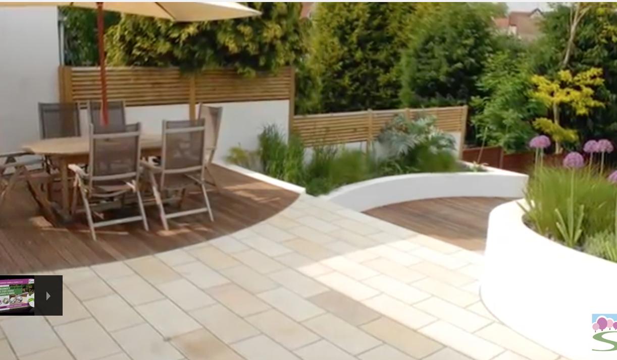 2 level garden design