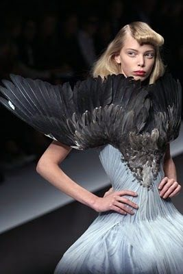 Alexander McQueen _ ideas are brewing inside my head. Might need to make this a new project.