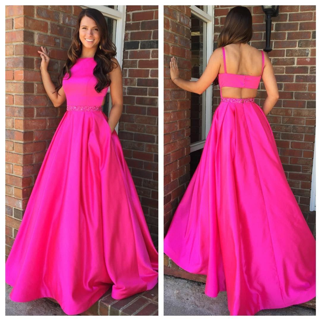 2018+Prom+Dress,+Long+Prom+Dress,+Red+Prom+Dress,+Hot+Pink+Prom+ ...