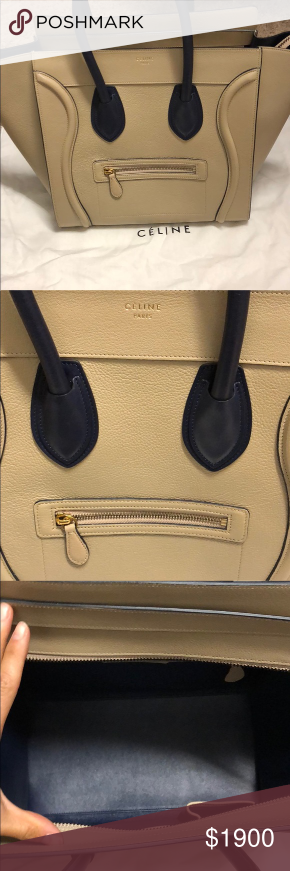 8741e6d4f7dd Céline mini luggage brand new Bran new never worn. Tags attached. Final  price Celine Bags Shoulder Bags