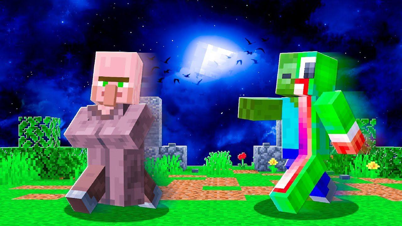 I BECOME A Zombie In MINECRAFT! *CHALLENGE*  Minecraft, Minecraft
