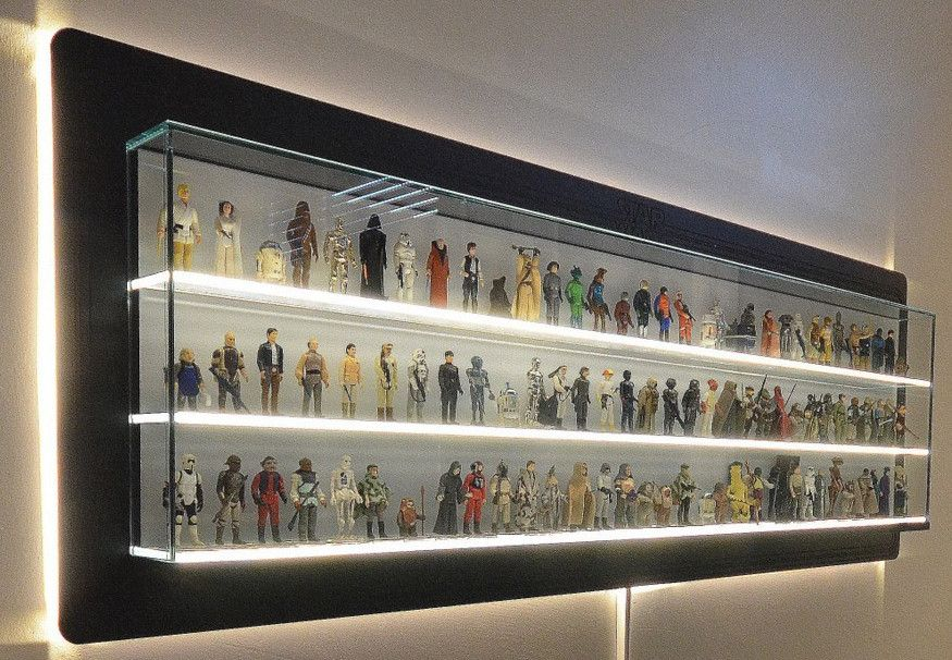 Electrical Cases With Shelves : From luke to yakface displaying your vintage star wars