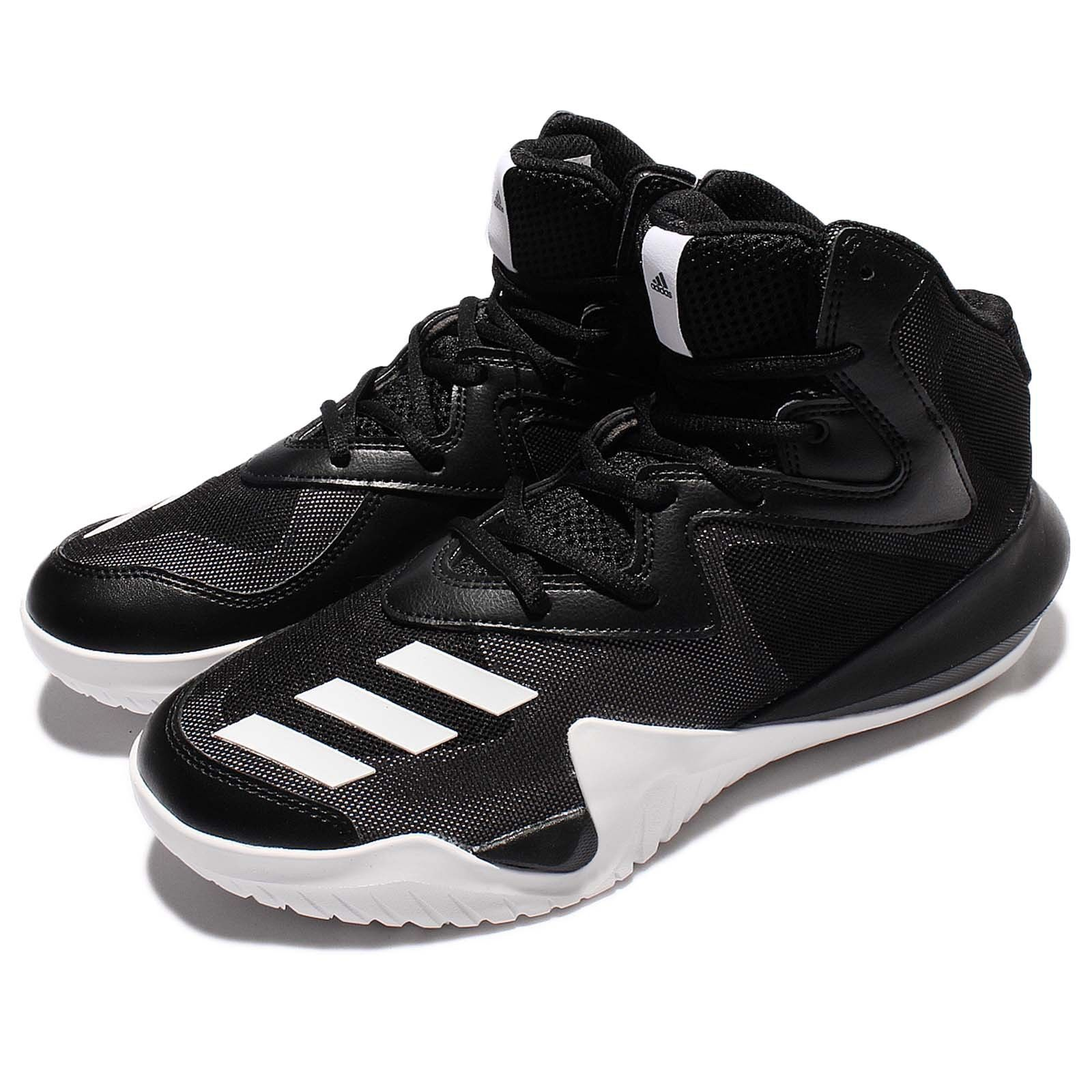 adidas Crazy Team 2017 Black White Men Basketball Shoes Sneakers Trainers BB8254