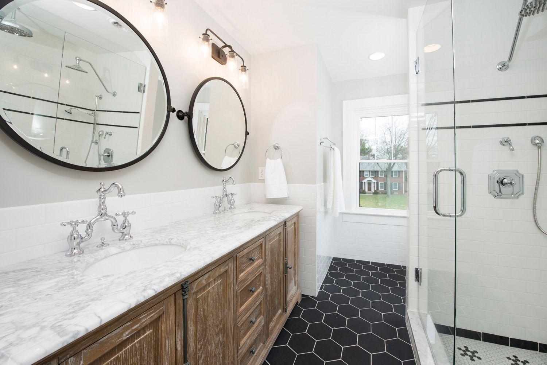 Bathroom Remodel Indianapolis bathroom remodel; indianapolis, in; meridian kessler; mosaic tile
