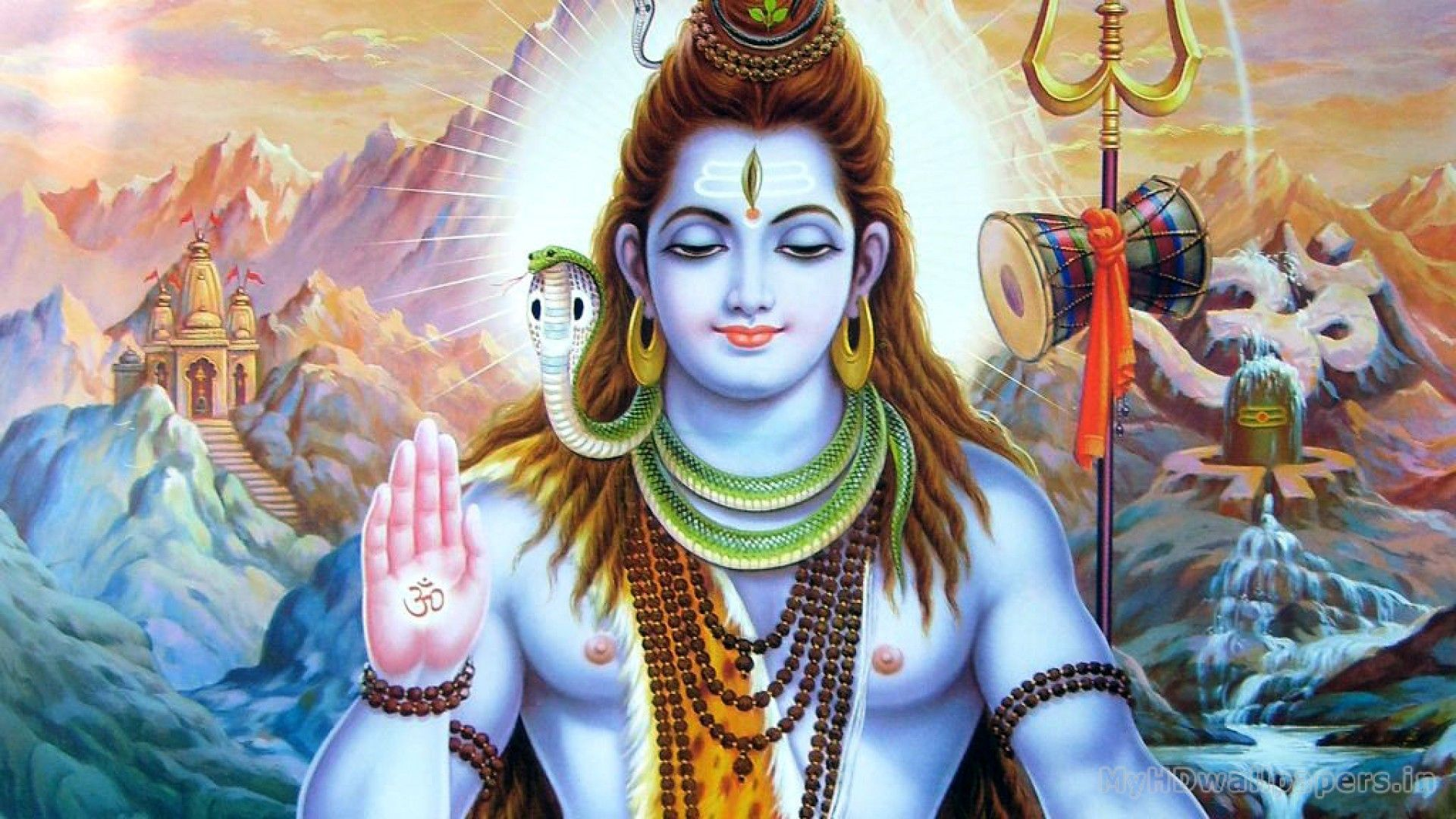 Amazing Lord Shiva Wallpapers 1080P HD Pics