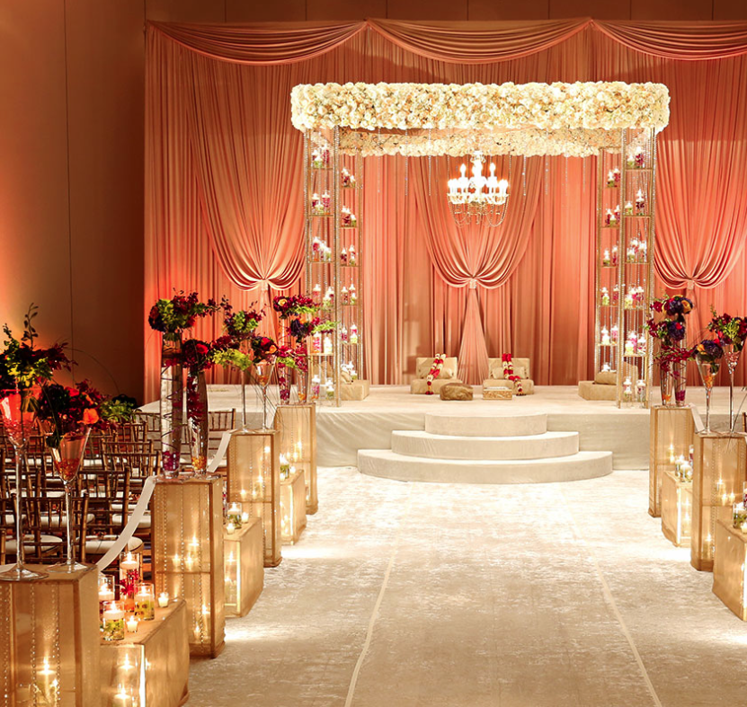 Ceremony And Reception In Same Room: Great Wedding Ceremony Ideas
