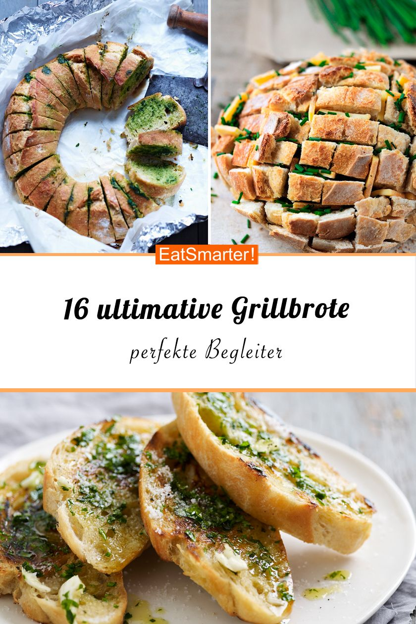 16 ultimative Grillbrote