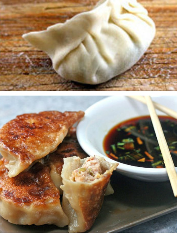 Homemade Dumplings and Potstickers recipe! Easy, fun and delicious!   Foodqik