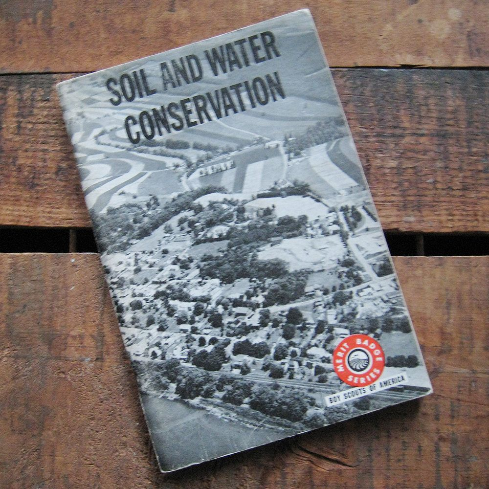 Vintage Boy Scouts of #America Guide: Soil & Water #Conservation ...