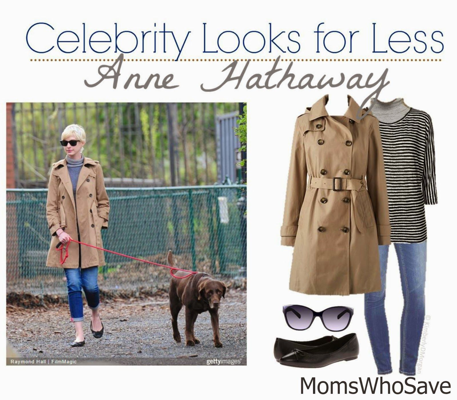 MomsWhoSave | Celebrity Look for Less -- Anne Hathaway  #deals #fashion #style #frugal