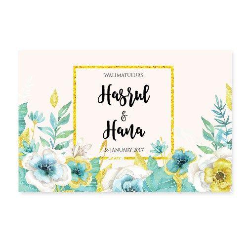 Kad Kahwin Floral 53 Chantiqs Kad Kahwin Kad Kahwin Floral Wedding Cards