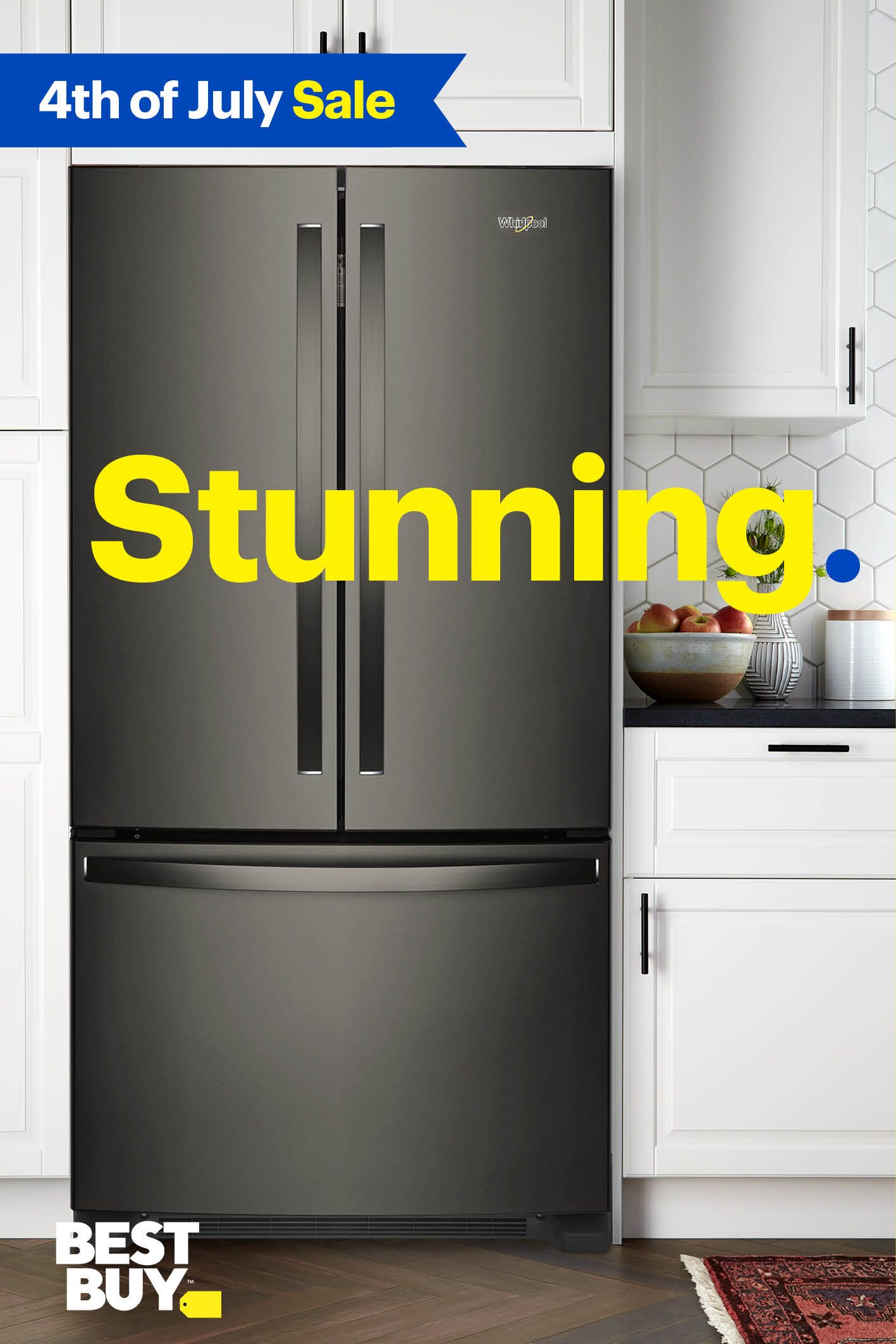 Whirlpool Black Stainless Is Not Only Easy On The Eyes,