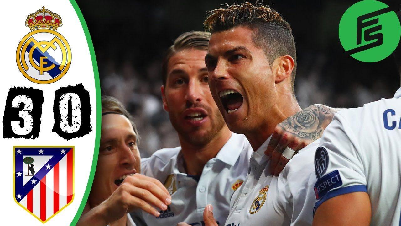Real Madrid 3 0 Atletico Madrid Highlights Goals 02 May 2017 Ronaldo Cristiano Ronaldo Ronaldo Real Madrid