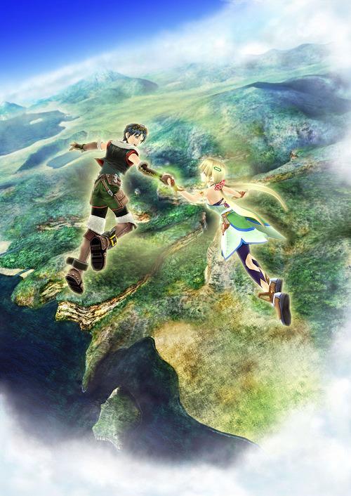 Illustration Promotional Poster #2 - Grandia 3 (PS2)
