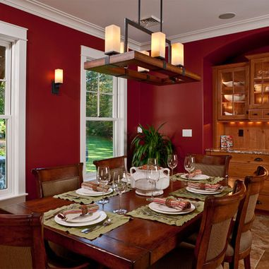 Fresh Red Paint Colors for Kitchens