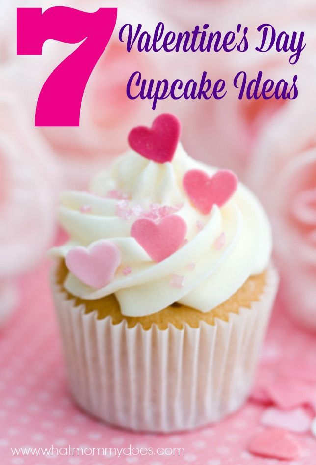 valentines day cupcake ideas 7 adorable options - Valentines Cupcakes Ideas