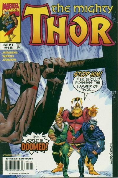 Mighty Thor Vol. 2 # 15 by Lee Weeks & Klaus Janson