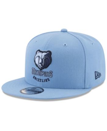 New Era Memphis Grizzlies All Colors 9FIFTY Snapback Cap - Blue Adjustable 8b12898623a