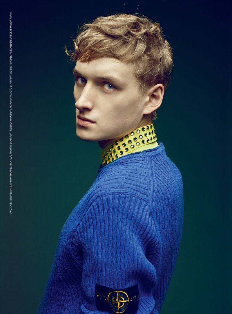 Alexander laible by errikos andreou for luofficiel hommes germany