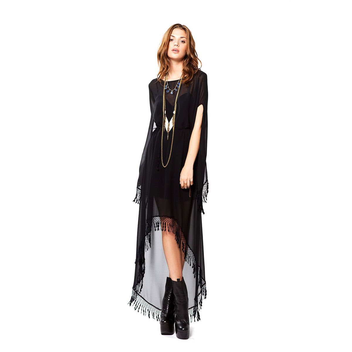 12cfafb73d1 black boho dress  3 everything about this I love. Shoes to dress ...