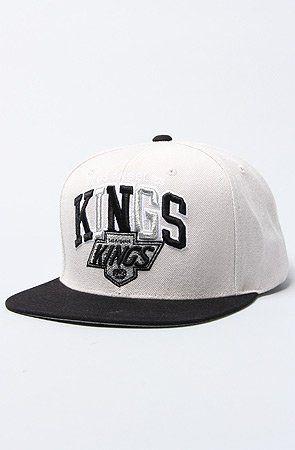 b29db5f51af Mitchell   Ness L.A Kings NHL Arch Logo Tri Pop - ( Grey Black ...