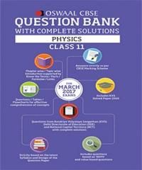 Oswaal CBSE CCE Class 11 Physics Question Bank include Complete