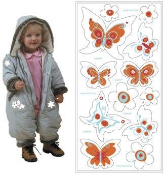 Selvklæbende refleks - Butterflies fra SeeME
