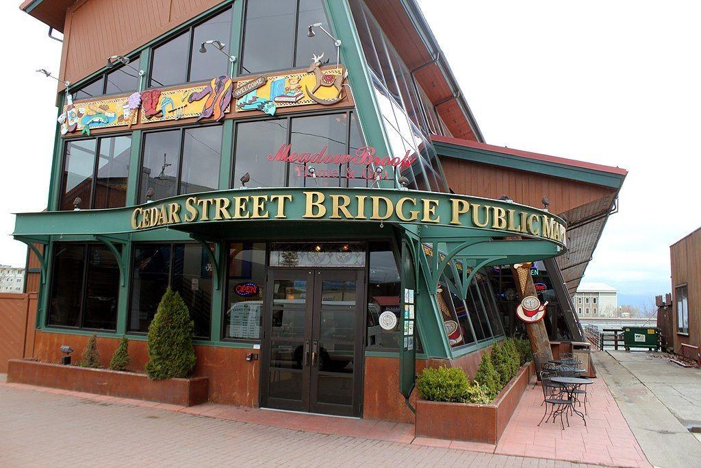 Cedar street bridge sandpoint idahothis is where my