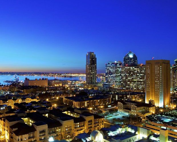 downtown san diego enjoy this epic view from one of the high rise condos makes you want to. Black Bedroom Furniture Sets. Home Design Ideas