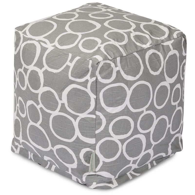 Majestic Home Goods 85907236046 Fusion Gray Cube